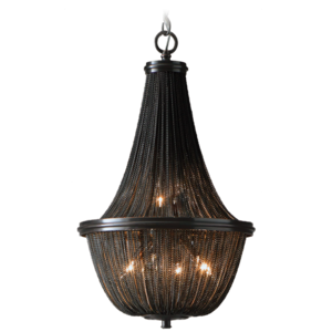 Lampa wisząca ROMA P04543BK