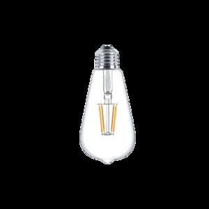 Żarówka dekoracyjna LED filament ST64 6W E27