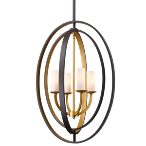 Lampa wisząca DUBLIN P04472BZ