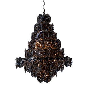 Lampa wisząca BRISBANE P09861BK NI