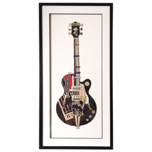 Obraz przestrzenny Guitar D 104-9054
