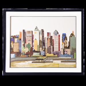 Obraz przestrzenny New York A 104-9071
