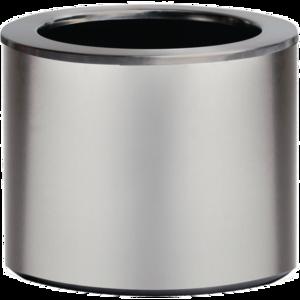 Donica Steel Inox Mat ø35x35