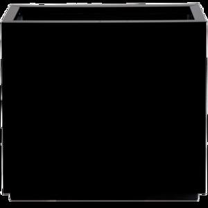Donica Steel Plus Czarna 65x25x75